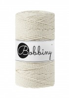 klbko Bobbiny Macrame 3-ply 3 mm natural